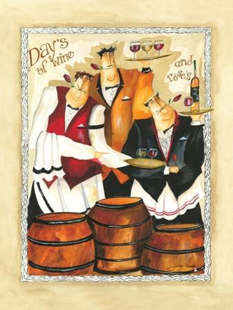Days of Wine II by Jennifer Garant