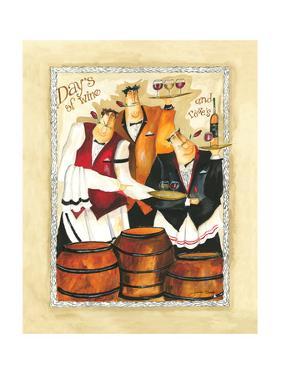 Days of Wine II by Jennifer Garant