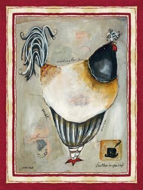 French Rooster III by Jennifer Garant