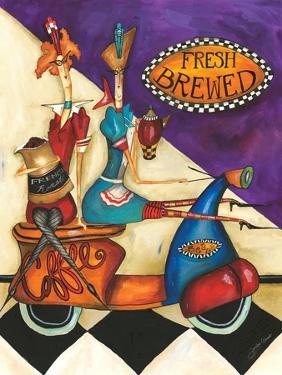 Fresh Brewed Coffee by Jennifer Garant