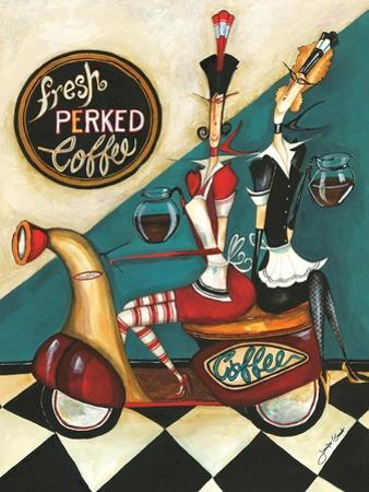 Fresh Perked Coffee by Jennifer Garant