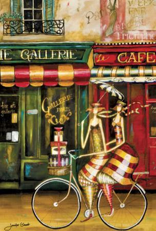 Girlfriends in Paris by Jennifer Garant