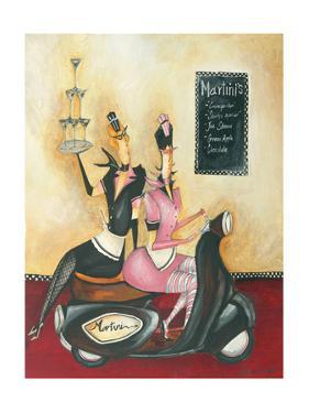 Martini Menu by Jennifer Garant