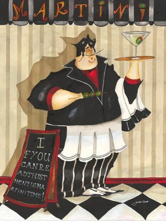 Martini Waiter by Jennifer Garant