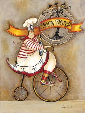 Paris Bistro I by Jennifer Garant