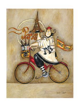 Paris Bistro II by Jennifer Garant