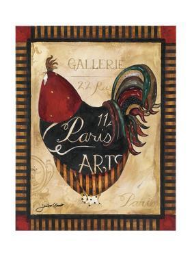 Paris Rooster II by Jennifer Garant