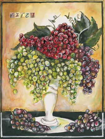 Vase of Grapes by Jennifer Garant