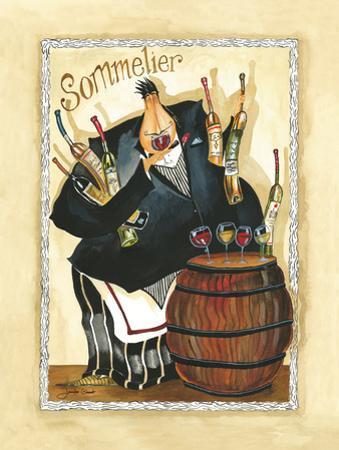 Wine & Roses I by Jennifer Garant
