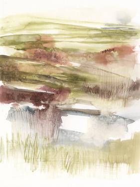 Abstract Flower Horizon I by Jennifer Goldberger