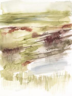 Abstract Flower Horizon II by Jennifer Goldberger