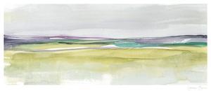 Amethyst & Emerald Horizon II by Jennifer Goldberger