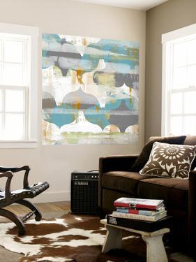 Arabesque Abstract II by Jennifer Goldberger