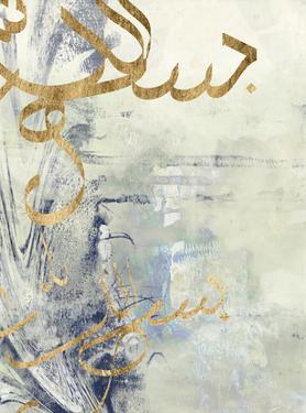 Arabic Encaustic III by Jennifer Goldberger