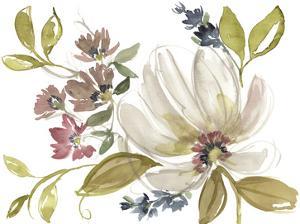 Aubergine Composition I by Jennifer Goldberger