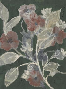 Blooms on Hunter Green II by Jennifer Goldberger