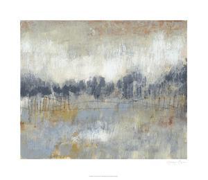 Cool Grey Horizon II by Jennifer Goldberger