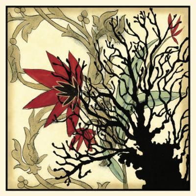 Coral Tapestry I by Jennifer Goldberger