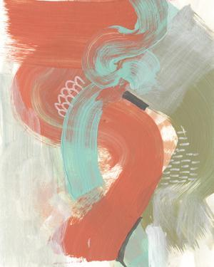 Coral Whimsy III by Jennifer Goldberger
