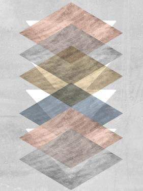 Diamond Allign II by Jennifer Goldberger