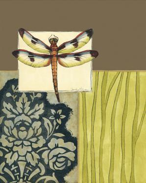 Dragonfly Tapestry IV by Jennifer Goldberger