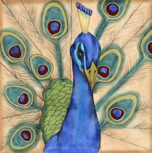 Eccentric Bird I by Jennifer Goldberger