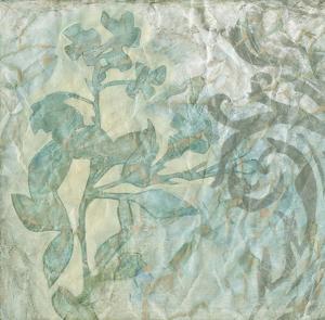 Embellished Flower Spray I by Jennifer Goldberger