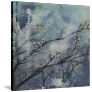 Embellished Moonlit Branches I by Jennifer Goldberger