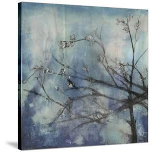 Embellished Moonlit Branches II by Jennifer Goldberger