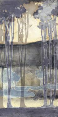 Embellished Nouveau Landscape II by Jennifer Goldberger