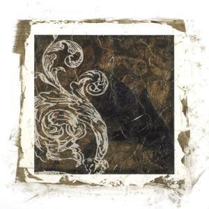 Embellished Scroll Nine Patch I by Jennifer Goldberger