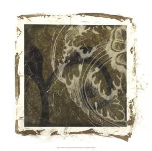 Embellished Scroll Nine Patch III by Jennifer Goldberger