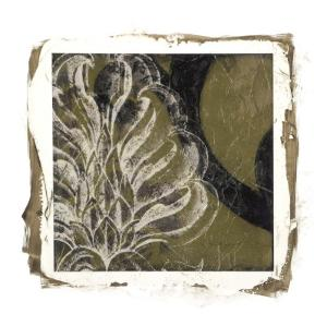 Embellished Scroll Nine Patch VII by Jennifer Goldberger