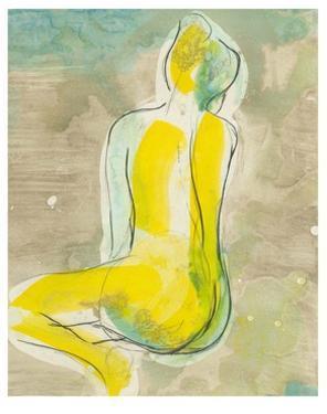 Figure in Relief II by Jennifer Goldberger