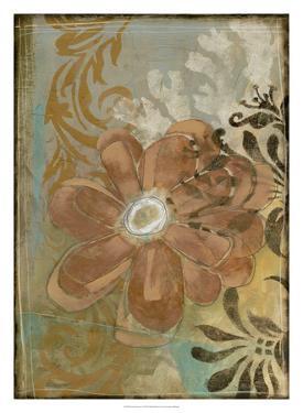 Floral Abstraction I by Jennifer Goldberger
