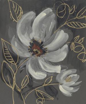 Floral Filigree I by Jennifer Goldberger