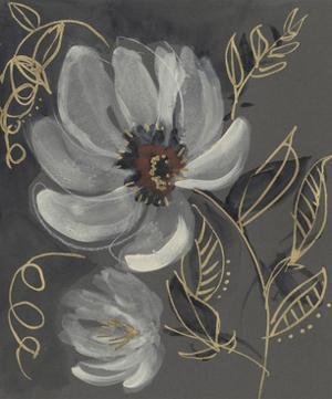 Floral Filigree II by Jennifer Goldberger