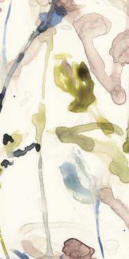 Flower Drip Triptych III by Jennifer Goldberger
