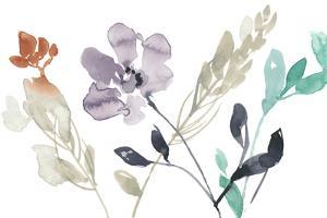 Flowers in Fall I by Jennifer Goldberger