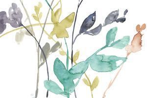 Flowers in Fall IV by Jennifer Goldberger
