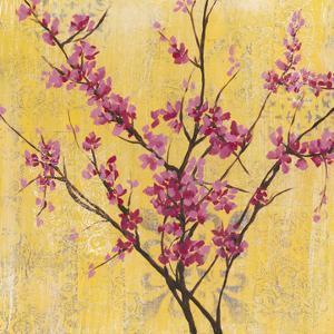 Fuchsia Blossoms I by Jennifer Goldberger
