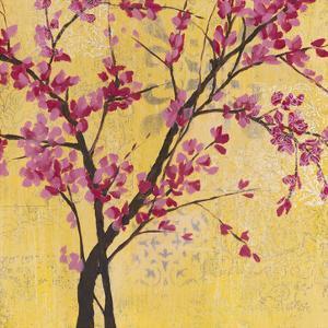 Fuchsia Blossoms II by Jennifer Goldberger
