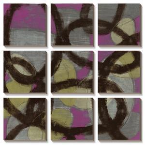 Fuchsia Links by Jennifer Goldberger