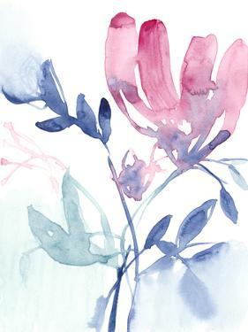 Fuchsia Sway I by Jennifer Goldberger