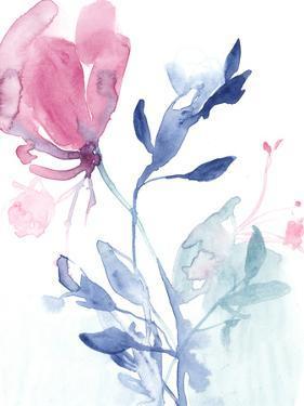 Fuchsia Sway II by Jennifer Goldberger