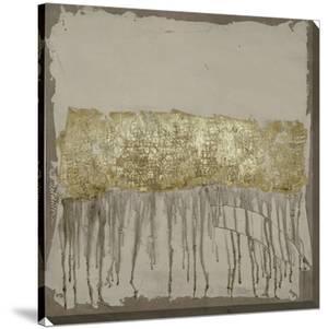 Gilded Neutral Ravine I by Jennifer Goldberger