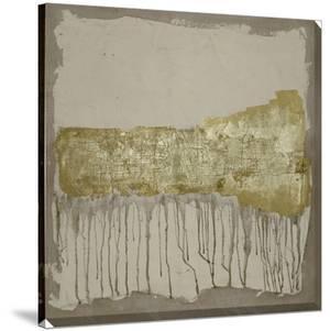 Gilded Neutral Ravine II by Jennifer Goldberger