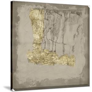 Gilded Neutral Ravine III by Jennifer Goldberger