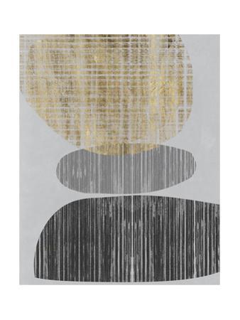 Gilded Shapes I by Jennifer Goldberger