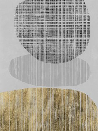 Gilded Shapes II by Jennifer Goldberger